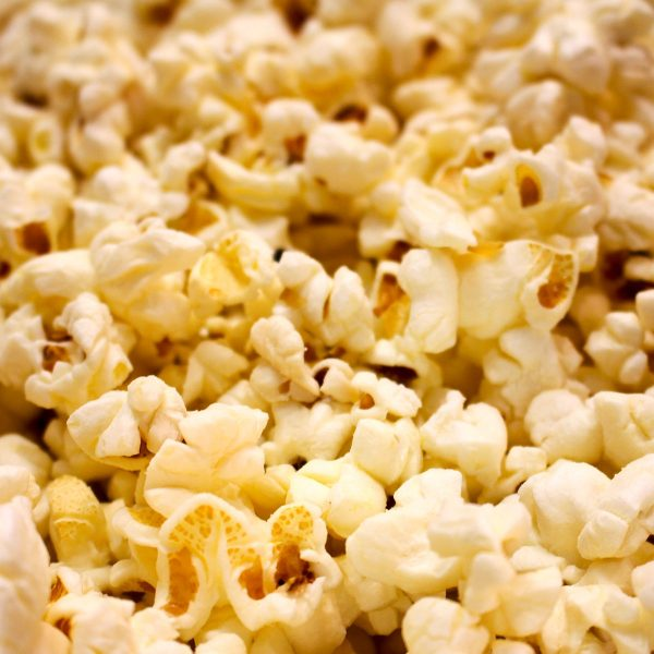 Parmesan & Garlic Flavored Popcorn