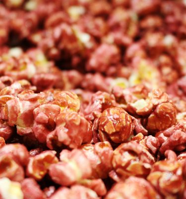 Cranberry Flavor Popcorn
