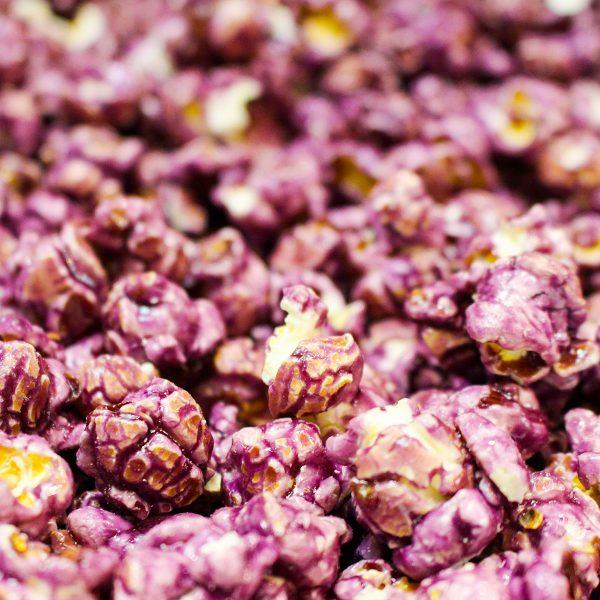 Grape Flavor Popcorn