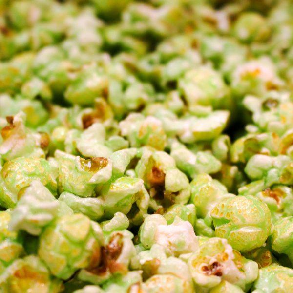 Green Apple Flavor Popcorn