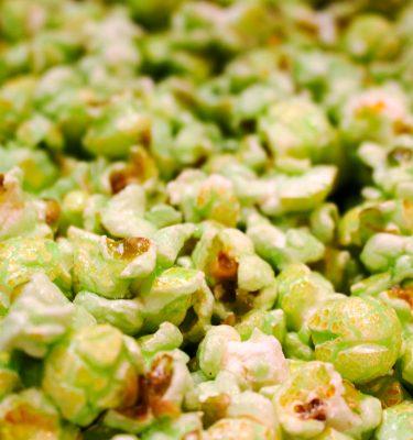 Key Lime Flavor Popcorn
