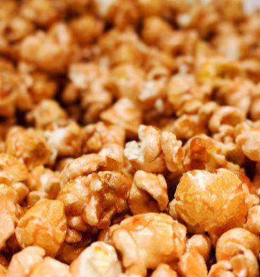 Pralines & Cream Flavor Popcorn