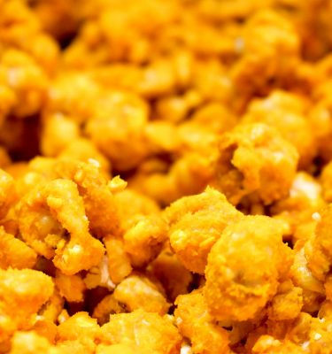 Cheese Coated Carmel Popcorn