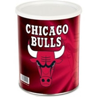Chicago Buuls Popcorn Tin