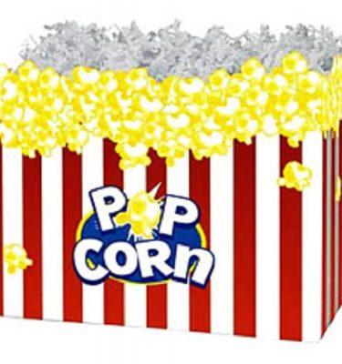Large Popcorn Gift Box